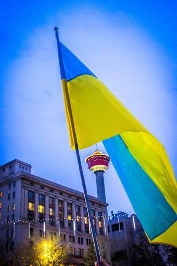 Українці в Канаді поставили хрест на Президенті (ФОТО), фото-4