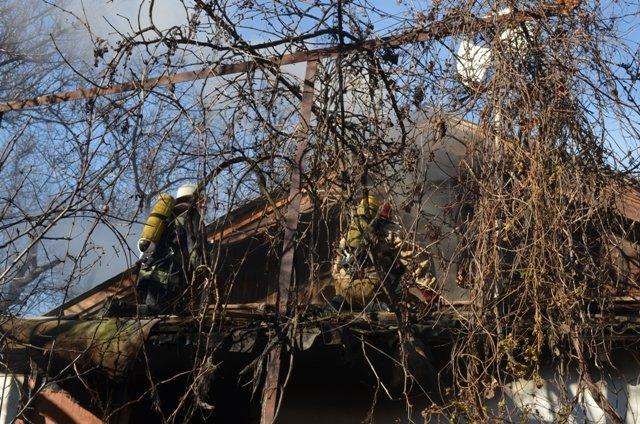 В Севастополе мужчина сгорел в собственном доме [фото, видео], фото-1