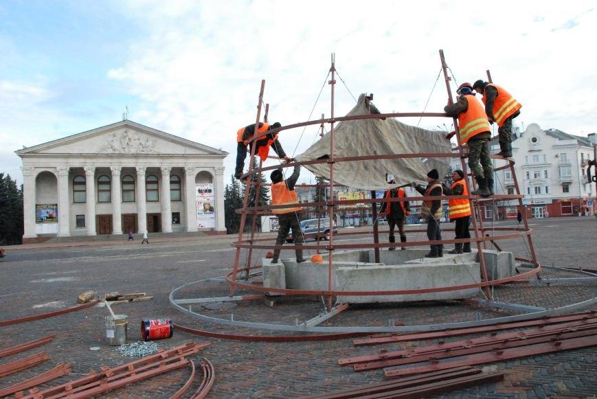 Главную новогоднюю елку Чернигова откроют 20 декабря, фото-4