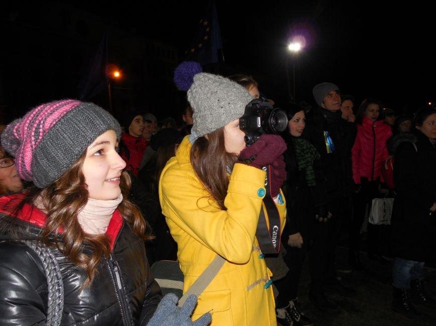 В поддержку «евромайдана» под памятником Шевченко выступили харьковские рокеры (фото, видео), фото-34