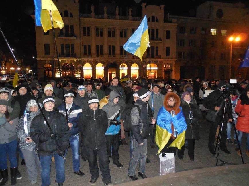 В поддержку «евромайдана» под памятником Шевченко выступили харьковские рокеры (фото, видео), фото-6