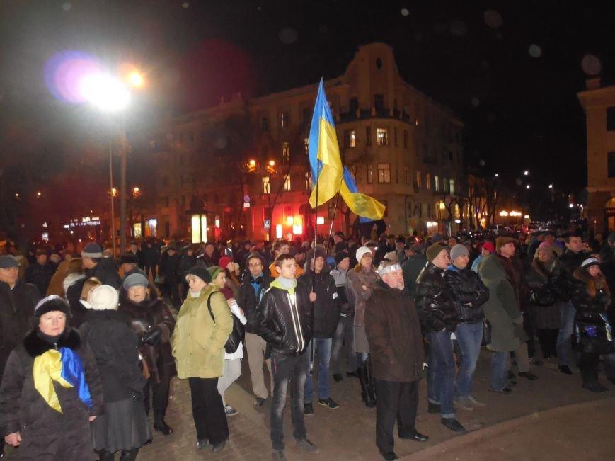 В поддержку «евромайдана» под памятником Шевченко выступили харьковские рокеры (фото, видео), фото-1