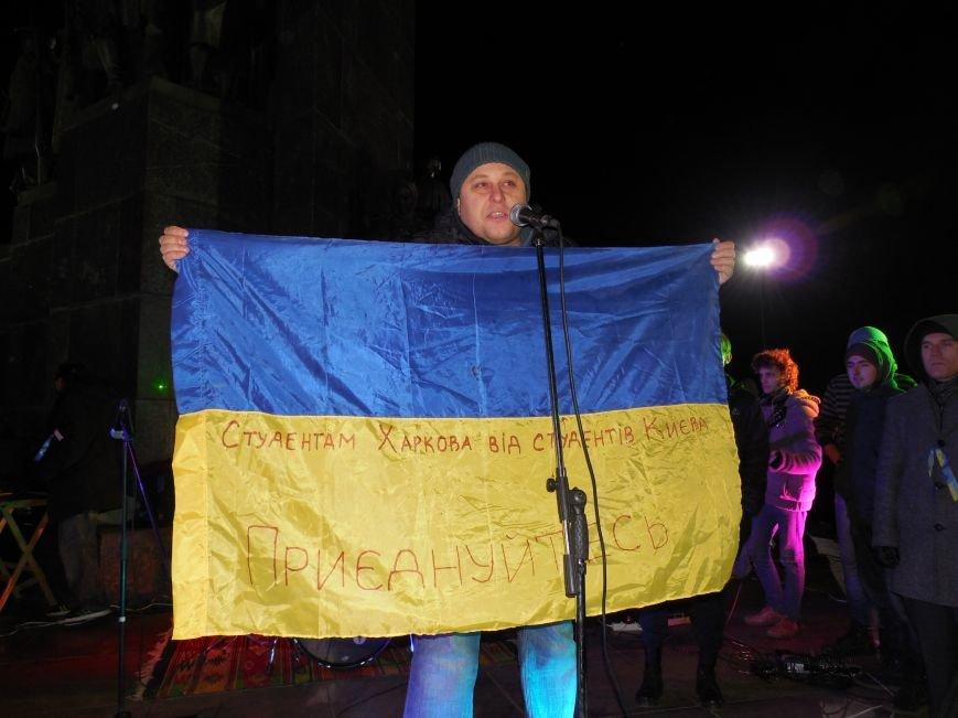 В поддержку «евромайдана» под памятником Шевченко выступили харьковские рокеры (фото, видео), фото-31