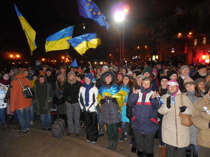 В поддержку «евромайдана» под памятником Шевченко выступили харьковские рокеры (фото, видео), фото-30