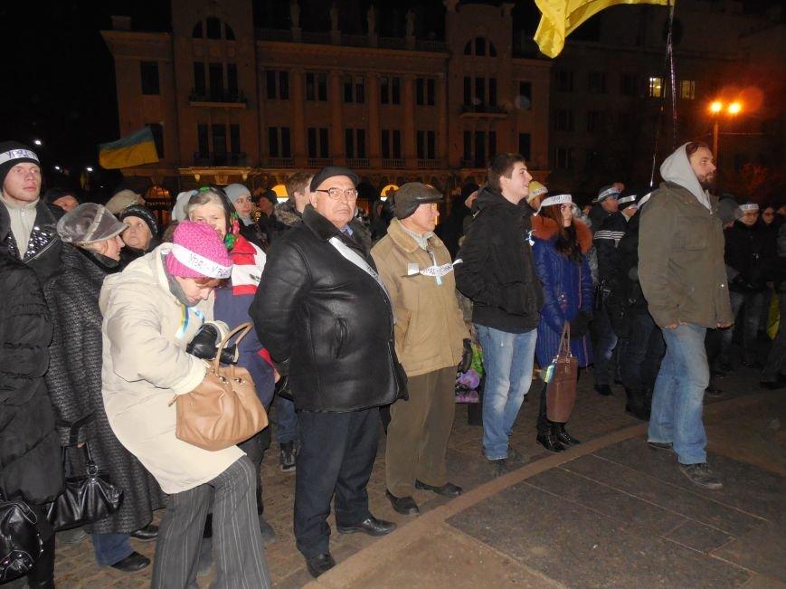 В поддержку «евромайдана» под памятником Шевченко выступили харьковские рокеры (фото, видео), фото-5