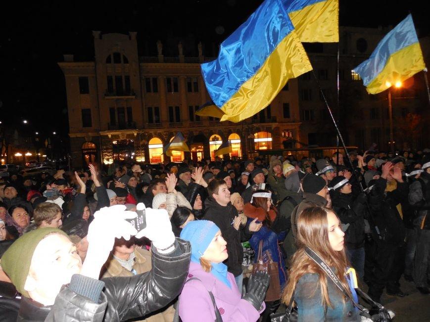 В поддержку «евромайдана» под памятником Шевченко выступили харьковские рокеры (фото, видео), фото-17