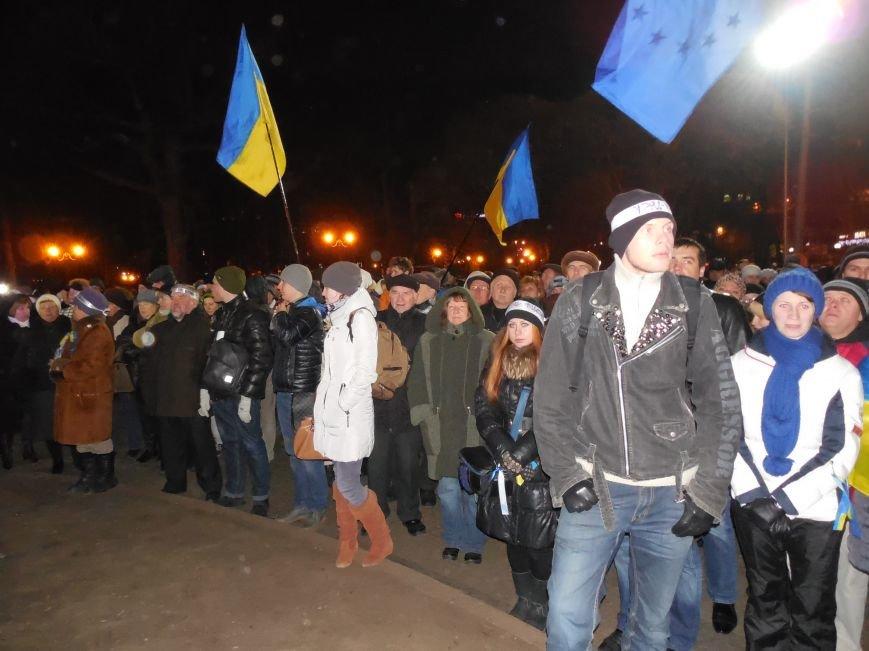 В поддержку «евромайдана» под памятником Шевченко выступили харьковские рокеры (фото, видео), фото-12
