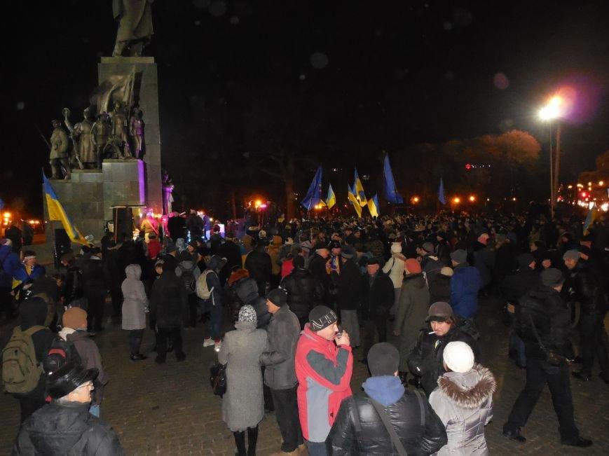 В поддержку «евромайдана» под памятником Шевченко выступили харьковские рокеры (фото, видео), фото-8