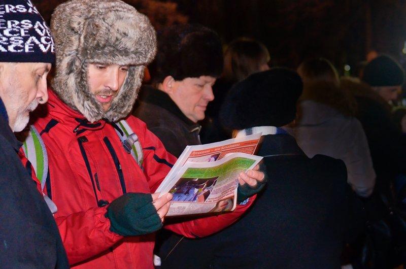 Луганчанам под елку пожелали нового Президента (ФОТО. ВИДЕО), фото-6