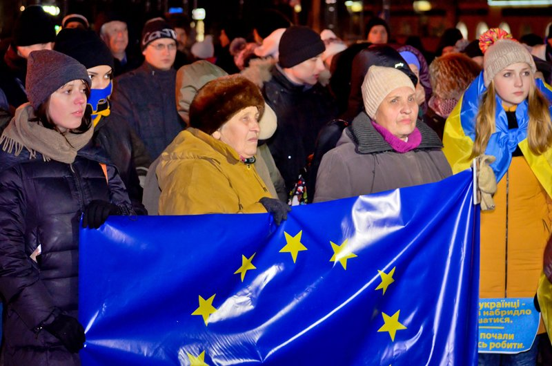 Луганчанам под елку пожелали нового Президента (ФОТО. ВИДЕО), фото-4