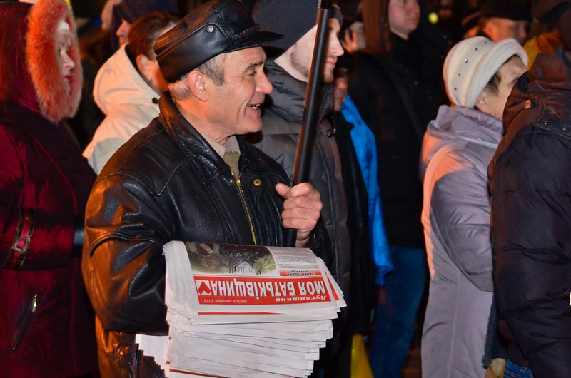 Луганчанам под елку пожелали нового Президента (ФОТО. ВИДЕО), фото-5