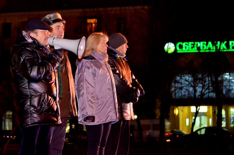 Луганчанам под елку пожелали нового Президента (ФОТО. ВИДЕО), фото-3