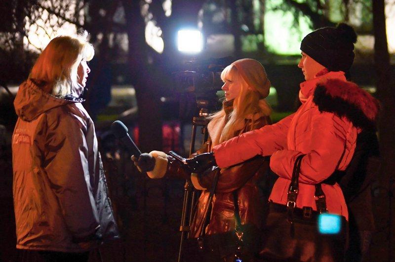 Луганчанам под елку пожелали нового Президента (ФОТО. ВИДЕО), фото-7