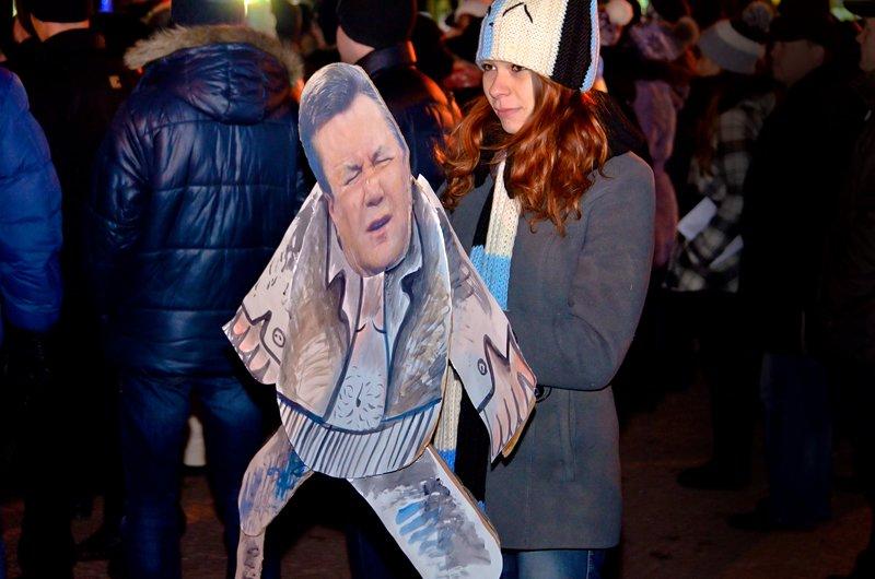 Луганчанам под елку пожелали нового Президента (ФОТО. ВИДЕО), фото-8