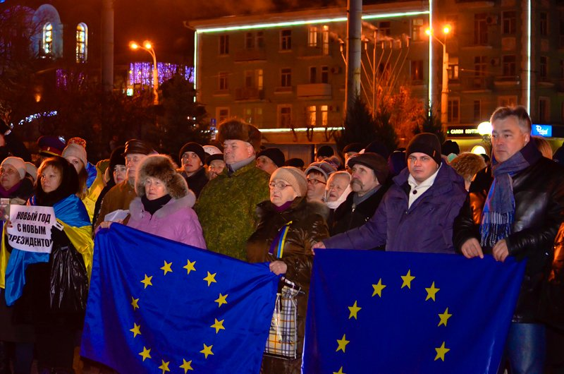 Луганчанам под елку пожелали нового Президента (ФОТО. ВИДЕО), фото-1
