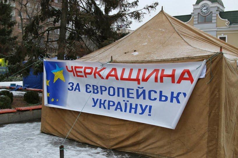 На Черкасский Майдан свозят буржуйки. Организаторы планируют собрать около 400 человек, фото-1