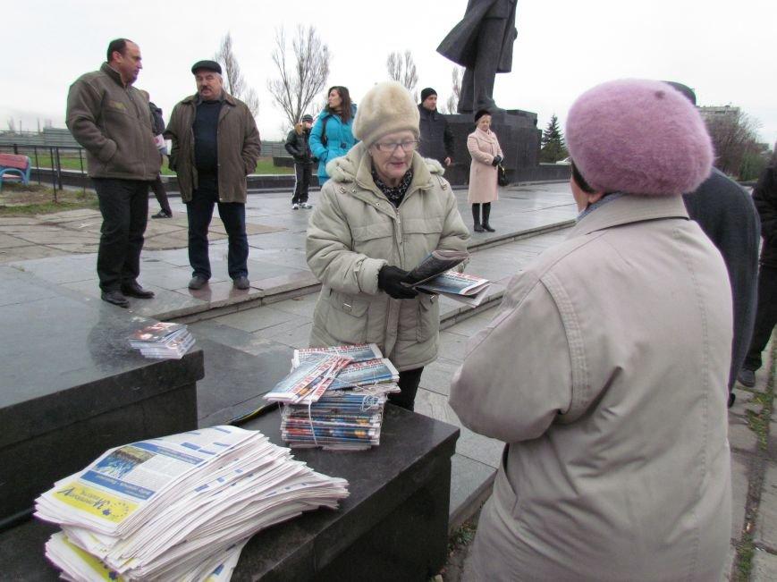 На баррикадах!В Мариуполе  на площади Ленина открыли штаб народного сопротивления(ФОТО+ВИДЕО), фото-10