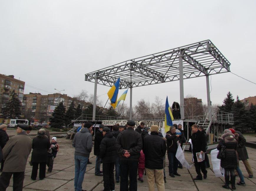 На баррикадах!В Мариуполе  на площади Ленина открыли штаб народного сопротивления(ФОТО+ВИДЕО), фото-3