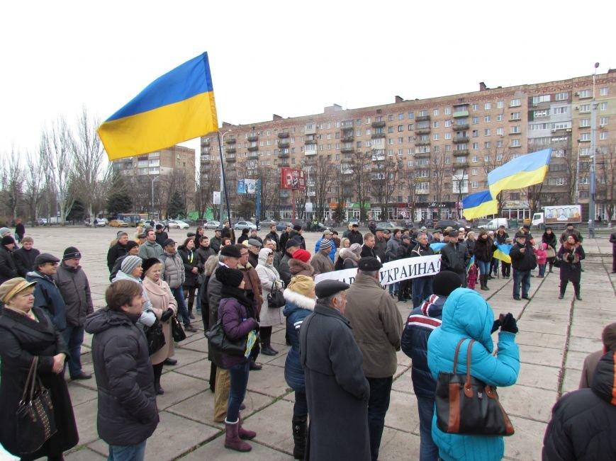 На баррикадах!В Мариуполе  на площади Ленина открыли штаб народного сопротивления(ФОТО+ВИДЕО), фото-2