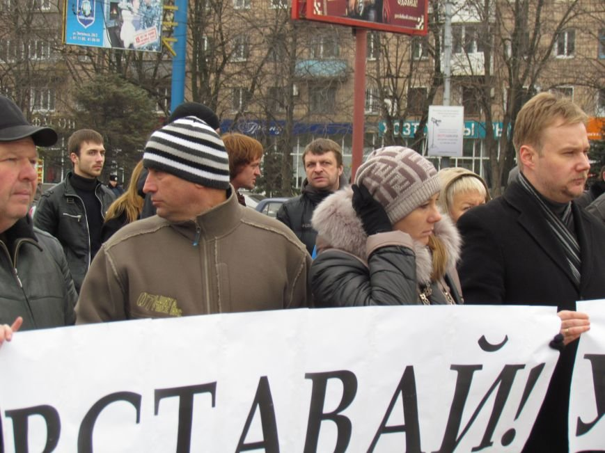 На баррикадах!В Мариуполе  на площади Ленина открыли штаб народного сопротивления(ФОТО+ВИДЕО), фото-5