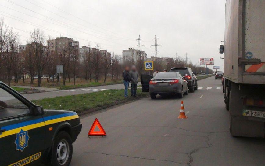 В Мариуполе  на улице Куприна не разъехались две «Тойоты» (ФОТО), фото-1