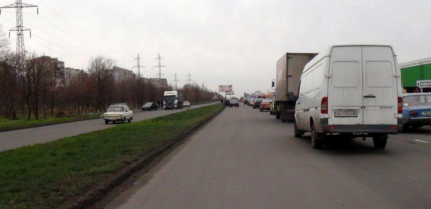 В Мариуполе  на улице Куприна не разъехались две «Тойоты» (ФОТО), фото-3