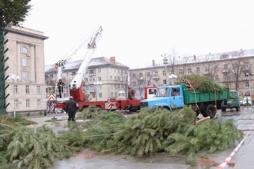 Черкасская новогодняя елка. Фото., фото-1