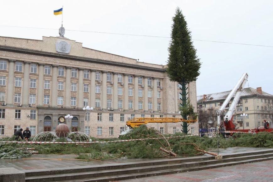 Черкасская новогодняя елка. Фото., фото-2