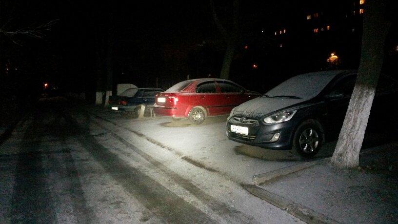 Мариупольцы  дождались первого снега (ФОТОФАКТ), фото-3