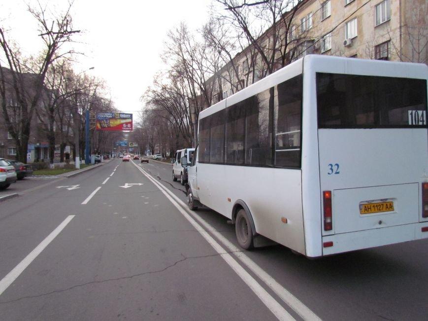 В Мариуполе  из-за собаки маршрутка с пассажирами  влетела в микроавтобус (Фото), фото-4