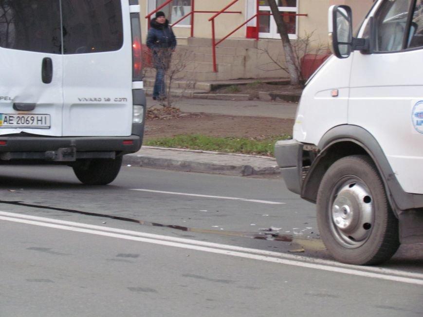 В Мариуполе  из-за собаки маршрутка с пассажирами  влетела в микроавтобус (Фото), фото-3