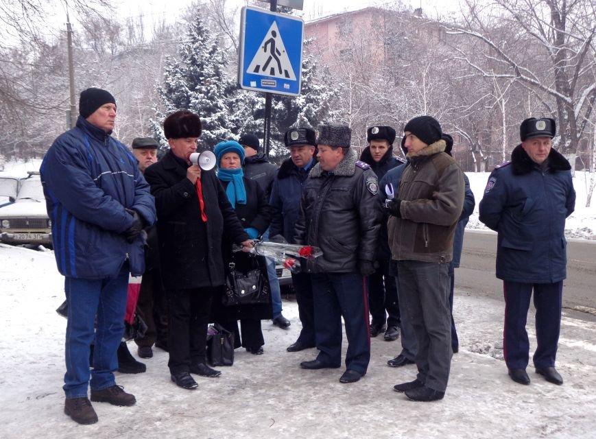 ФОТОРЕПОРТАЖ: Запорожские активисты выступили против беспредела «Беркута» на Майдане, фото-1