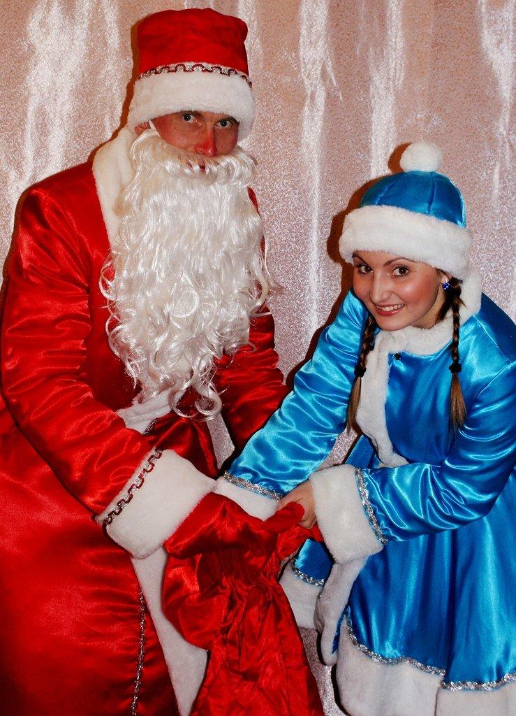 Дед Мороз и Снегурочка спешат Вас поздравить!, фото-1