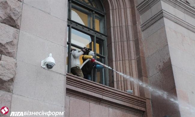 Як Майдан відбив атаку «Беркута» на будівлю КМДА (ФОТОРЕПОРТАЖ), фото-5