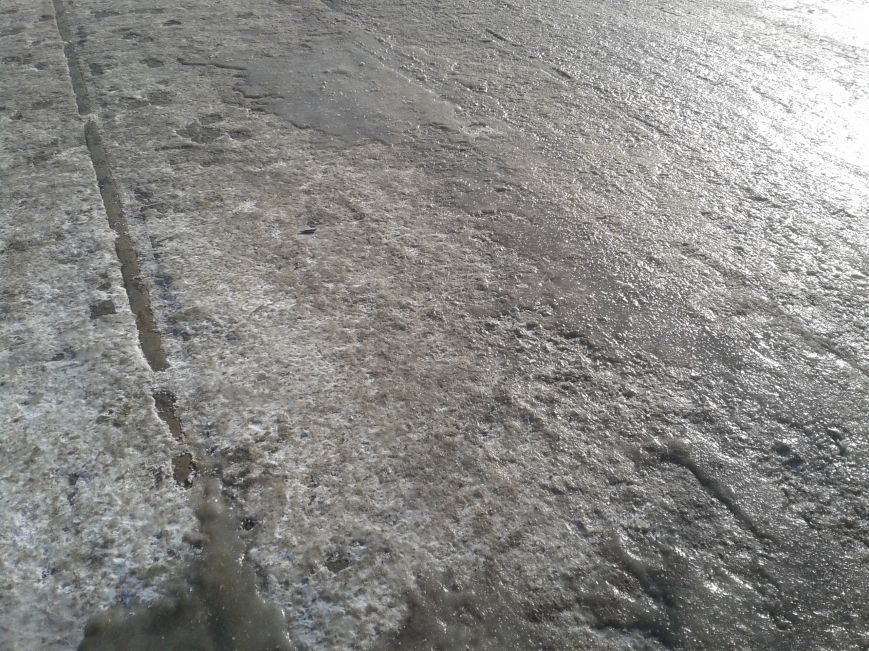 ФОТОФАКТ: В Запорожье заледенели трамвайные пути, фото-1
