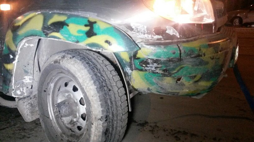 В Мариуполе «Патриот» протаранил 3 автомобиля (ФОТО), фото-6