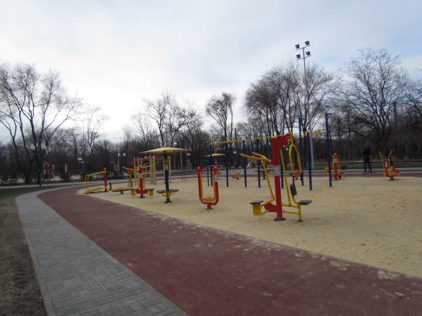 В Мариуполе строят европейскую площадку в парке им. Лепорского  (ФОТО), фото-5