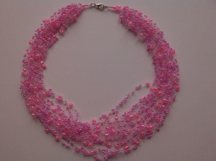 воздушное розовое