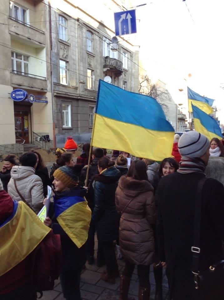 Львівські журналісти сьогодні мітингували: «Свободу слова і правду не диктують» (ФОТО), фото-2