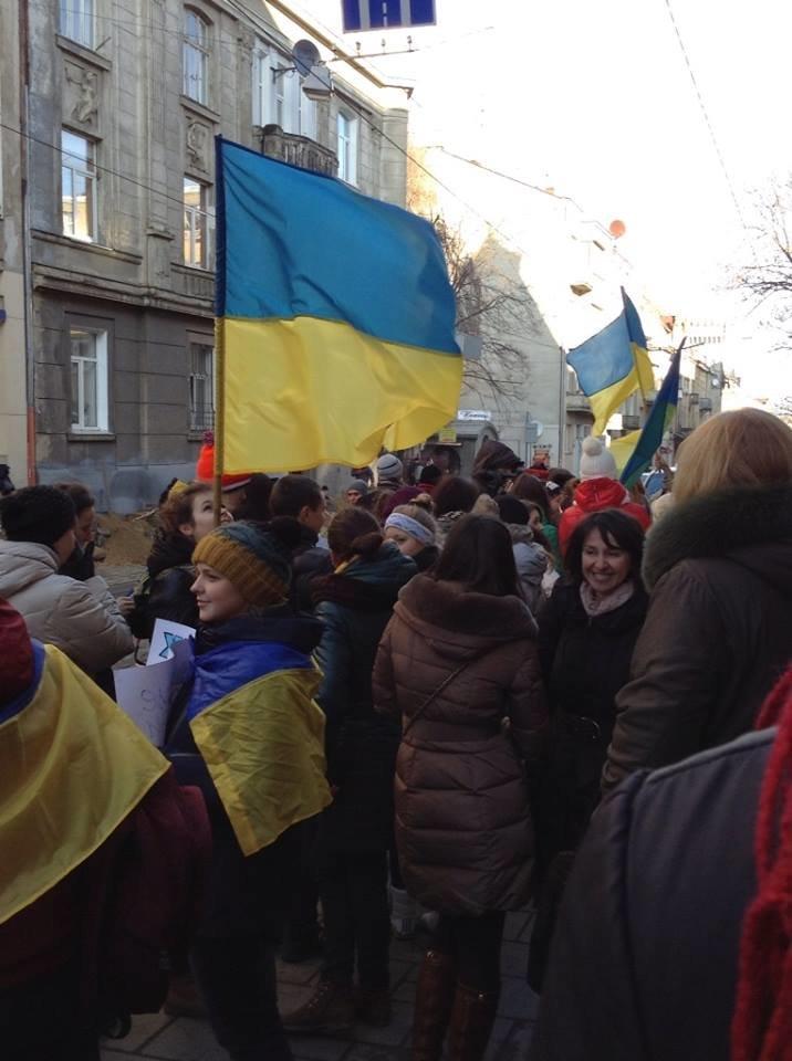 Львівські журналісти сьогодні мітингували: «Свободу слова і правду не диктують» (ФОТО), фото-4