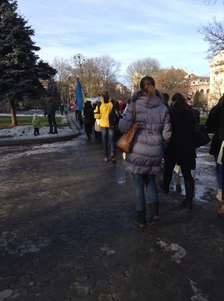 Львівські журналісти сьогодні мітингували: «Свободу слова і правду не диктують» (ФОТО), фото-1