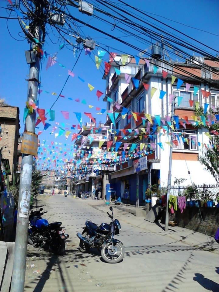 Томмель - туристический район в Катманду