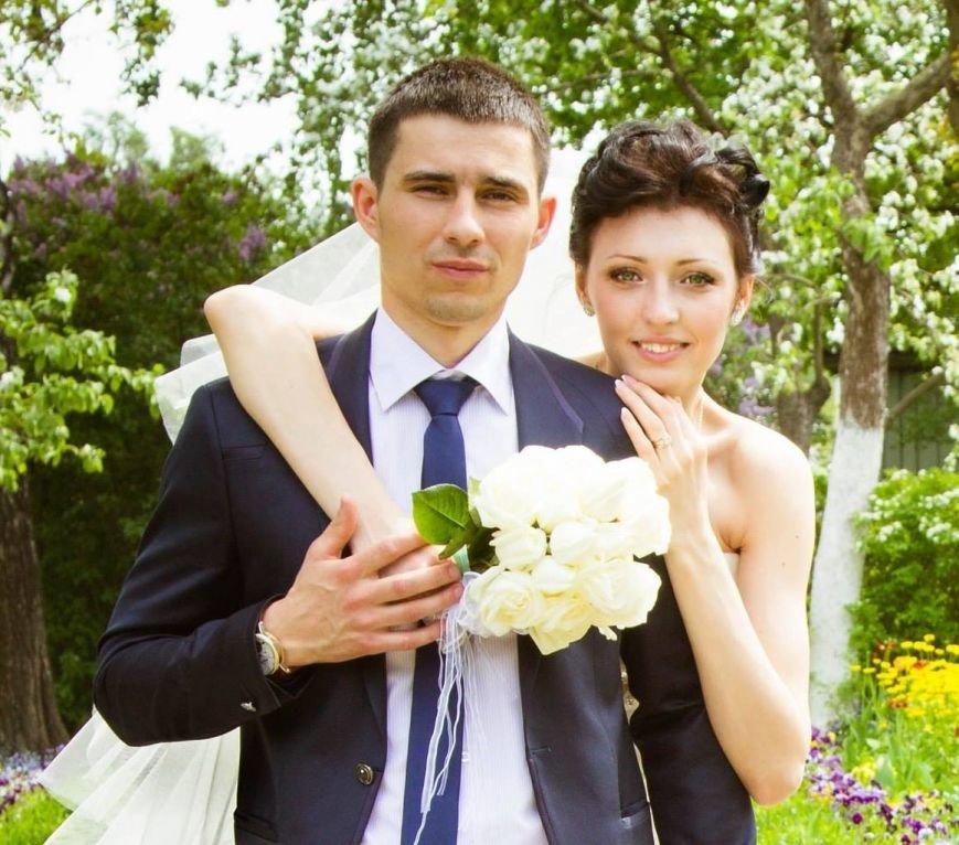 Артем Прима с женой