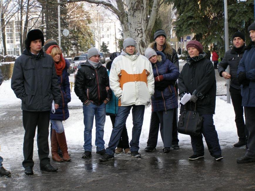 «Евромайдан» в Красноармейске собрал около 40 человек: кто пришел поддержать, а кто «просто посмотреть», фото-8