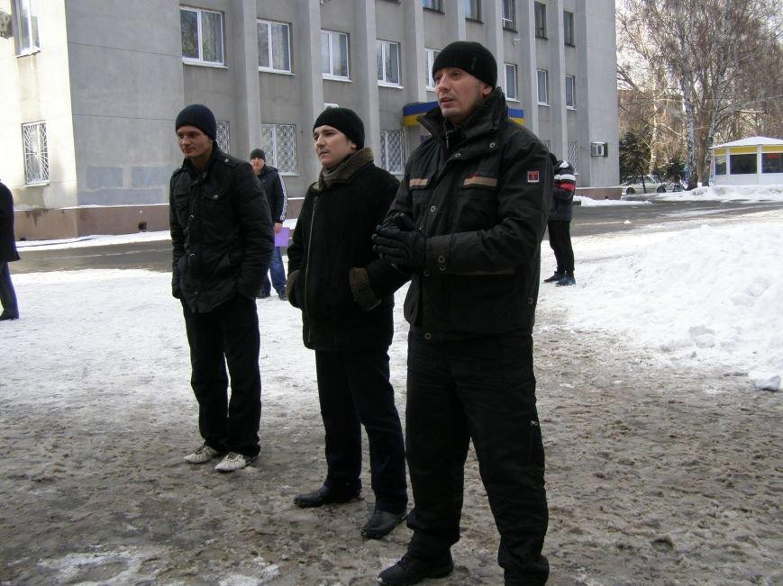 «Евромайдан» в Красноармейске собрал около 40 человек: кто пришел поддержать, а кто «просто посмотреть», фото-12