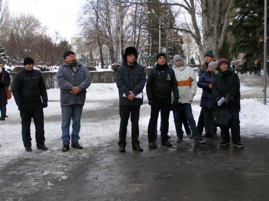 «Евромайдан» в Красноармейске собрал около 40 человек: кто пришел поддержать, а кто «просто посмотреть», фото-6