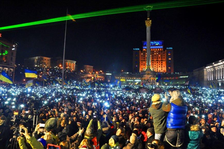 Вакарчук и «Океан Эльзы» в своем «золотом составе» всколыхнули Евромайдан (фоторепортаж), фото-11