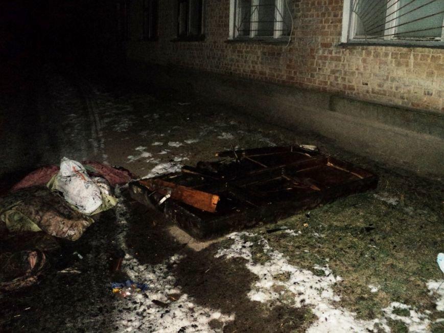 Прикованного к постели мужчину спасли в Чернигове во время пожара, фото-1
