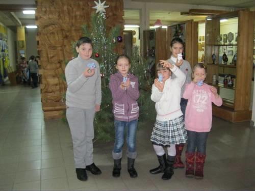 Черниговские школьники побывали в новогодней мастерской, фото-2