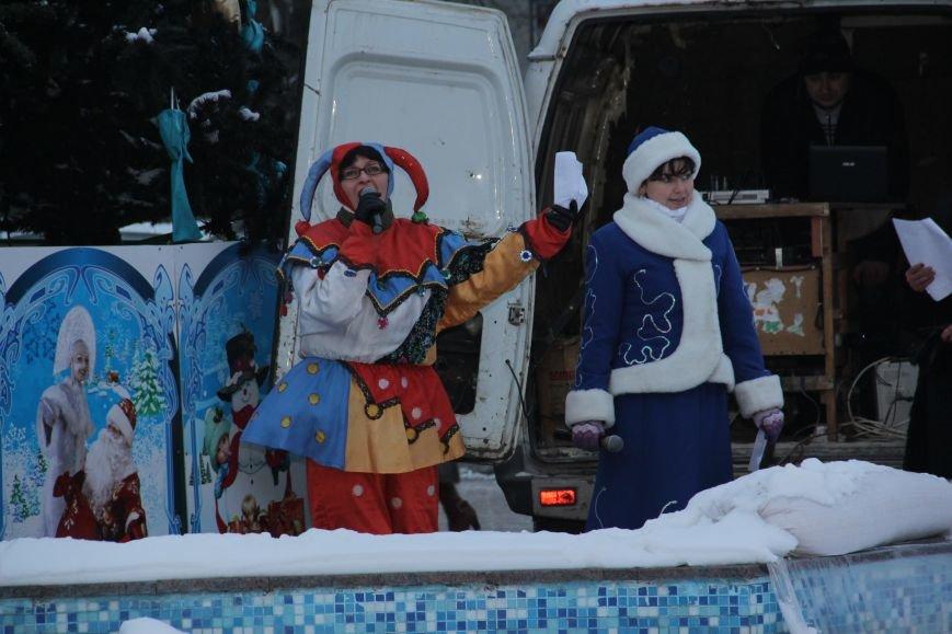 Открытие Новогодней елки в Димитрове, фото-2